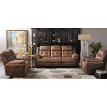 CHEERS5156L3RG Bonanza Silt Sable Reclining Sofa, Reclining Loveseat &  Recliner Group