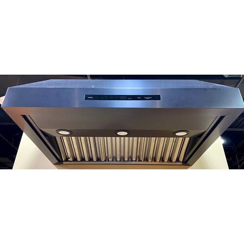 "Dacor DHD36M987WM   36"" Wall Hood, Graphite Stainless Steel"