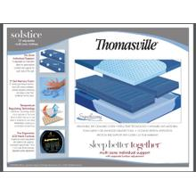 Solstice Multi 6 chamber air queen  mattress