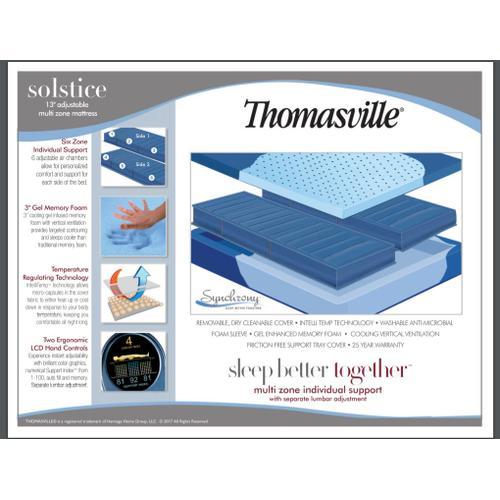 Solstice Multi 6 chamber air queen  mattress