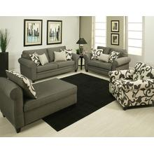 View Product - Grey Stationary Loveseat