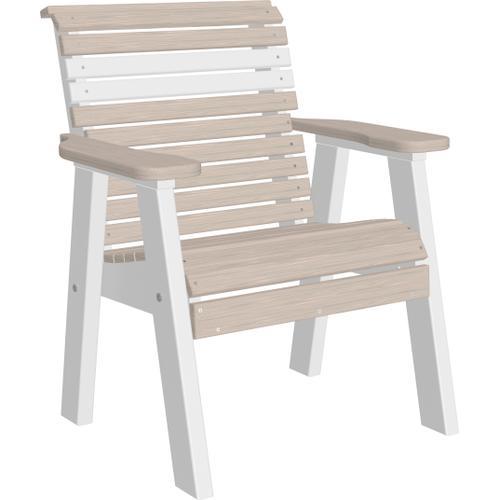 Plain Bench 2' Premium Birch and White