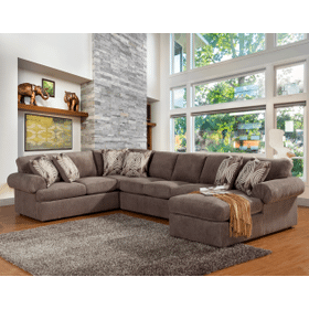 See Details - Brandon 3 Pc. Sectional Pewter