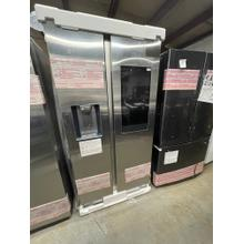 **ANKENY LOCATION**Side-by-Side Refrigerator with Touch Screen Family Hub™ in Stainless Steel  **1 YEAR WARRANTY**