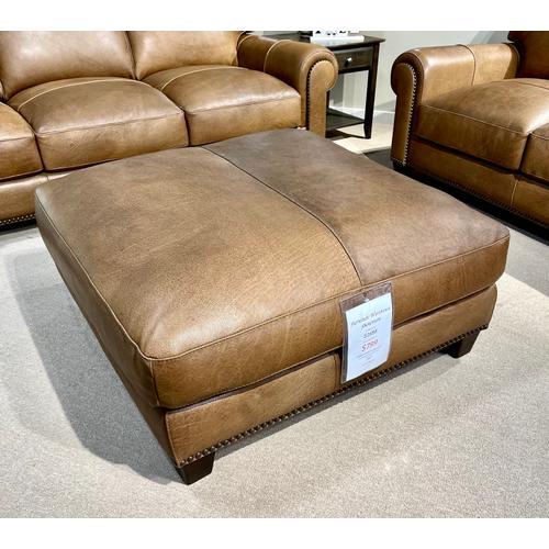 Soft Line - Madison Italian Leather Ottoman
