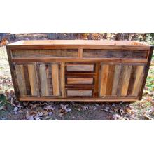 Variable Barnwood Vanity