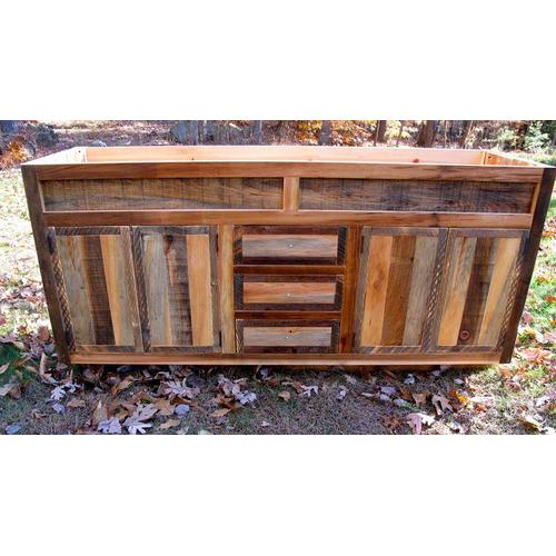 Cozy Creations Collection - Variable Barnwood Vanity