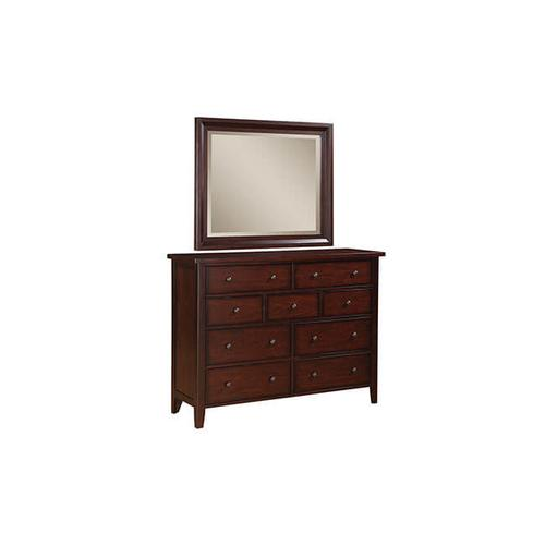 Vintage Cherry 9-Drawer Dresser