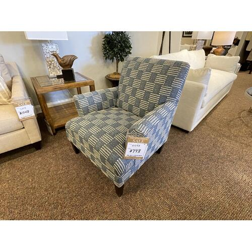 Accent Chair 'Shabana Denim'