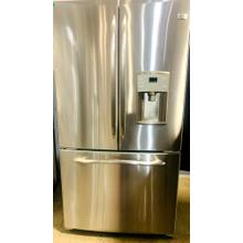 USED- GE Profile™ 25.1 Cu. Ft. French Door Refrigerator with External Dispenser- FD3SS36-U  SERIAL #32