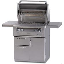"All infrared 30"" Cart with Drawer Grill"