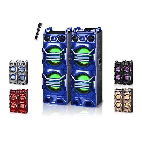 "Dual 10"" Active Tower Speaker System"