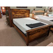See Details - Roughsawn Panel Bed