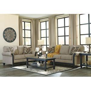 Blackwood- Taupe Sofa and Loveseat