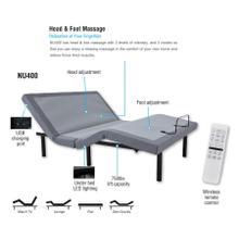 NU400 Adjustable Bed Frame