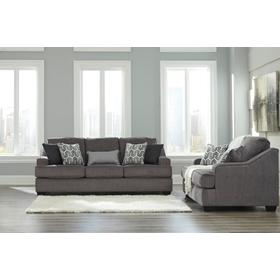 Gilmer Sofa & Loveseat Gunmetal