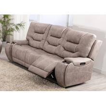 LIFESTYLE U80143-61 Canyon Gray Power Reclining Sofa