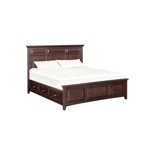 Product Image - McKenzie cal-king mantel storage bed