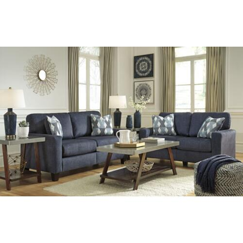 Burgos- Navy Sofa and Loveseat