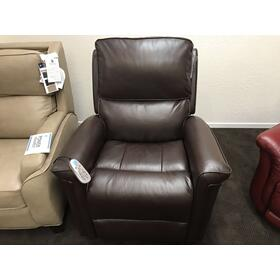 "Samantha Power Lift Recliner 33""Wx39""Dx43""H: Leather 042-70"