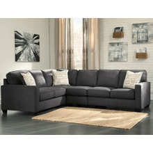 Alenya - Charcoal - 3-Piece Sectional
