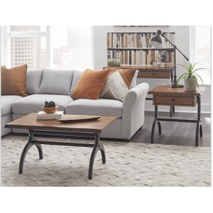 Null Furniture Inc - LIVE EDGE Large Rectangular Cocktail in Cinnabar Finish    (1219-11,52989)