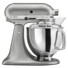 See Details - KitchenAid Artisan Contour Silver Stand Mixer