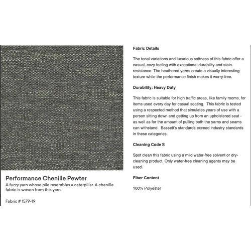 Bassett Furniture - Premier Collection -  BenchMade Concord Classic Sofa