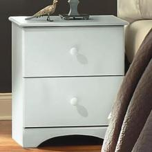 See Details - White Perdue Night Stand