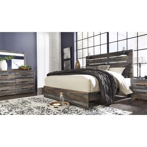 Drystan Queen Bed, Dresser, Mirror