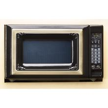 Antique Style 2.0 Cubic Foot Microwave Oven - BLACK/WHITE