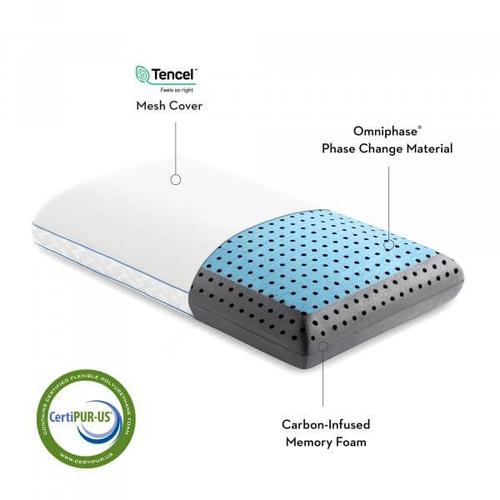CarbonCool   OmniPhase LT Queen Pillow