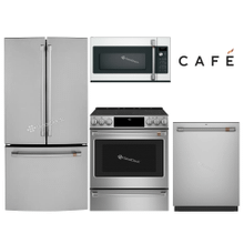 "GE CAFE 33"" FRENCH DOOR (COUNTER-DEPTH) PACKAGE"