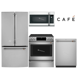 """Packages - GE CAFE 33"""" FRENCH DOOR (COUNTER-DEPTH) PACKAGE"""