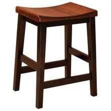 Amish Coby Backless Bar Stool