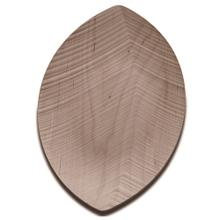 Legnoart Leaf Maple Wood Large Serving Tray, 17 x 10-Inches