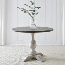 Drop-Leaf Pedestal Table