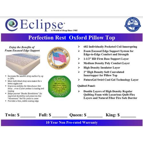 Oxford - Pillow Top