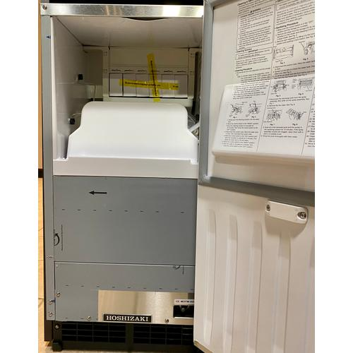 Hoshizaki AM50BAJADDS    Top Hat Cuber Icemaker, Air-cooled, ADA Compliant Height & Custom Cabinet Ready