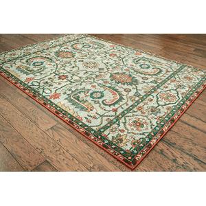 "Oriental Weavers Usa, Inc. - 5'3"" X 7'8"" DAWSON AREA RUG      (8490B,91640)"