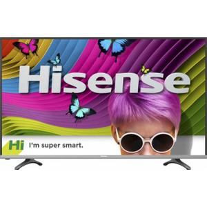 "Hisense 55"" Class (54.6"" Diag.) - LED - 2160p - Smart - 4K Ultra HD TV with High Dynamic Range - Black"