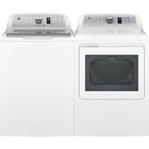 GE Glass Top Washer and Dryer Set
