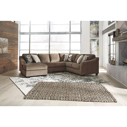 See Details - Graftin Teak LAF Corner Chaise, Armless Loveseat & RAF Sofa with Corner Wedge Sectional