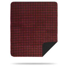 Red Black Buffalo Check