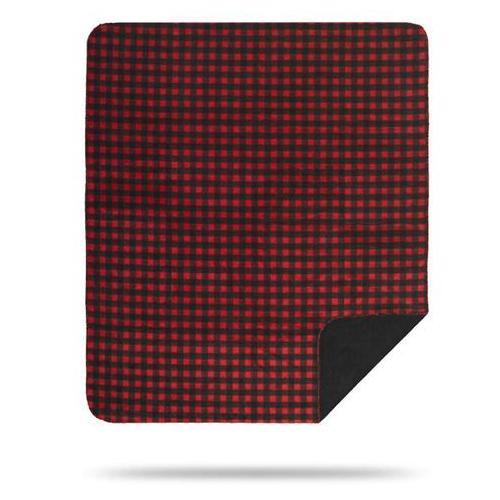 Denali Blankets - Red Black Buffalo Check