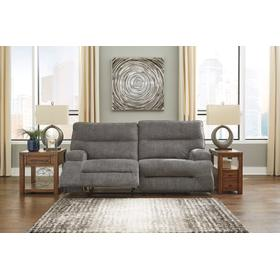 See Details - Coombs 2 Seat Reclining Sofa Charcoal