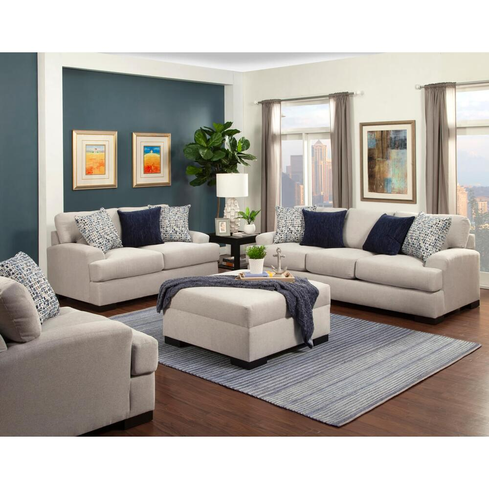Derby Sofa and Love Seat