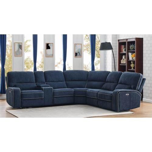 Coaster - 6PC Power2 Sectional
