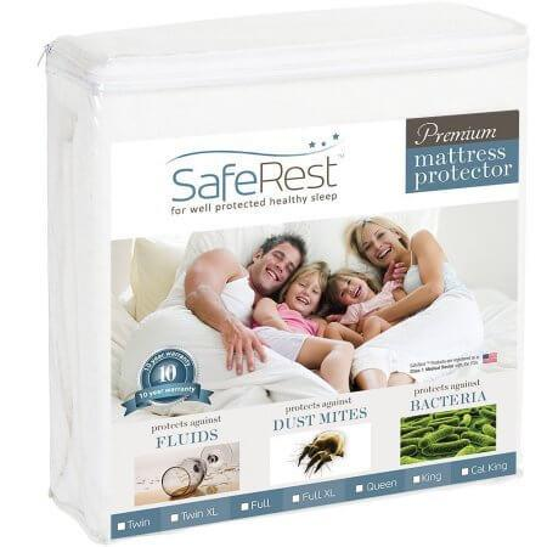 Safe Rest - Safe Rest Mattress Protector King