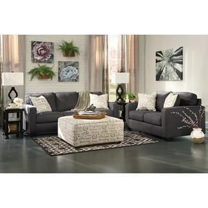 Alenya- Charcoal Sofa and Loveseat